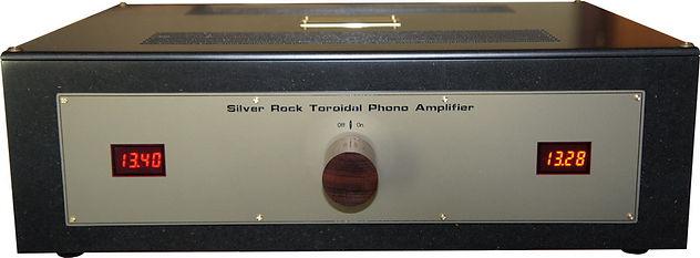 SILVER ROCK TOROIDAL  PHONO PREAMPLIFIER