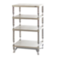 SolidSteel HP-4 White Equipment Stand