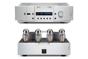 BAT VK-33 Pre + VK-56 Power Amp Stack