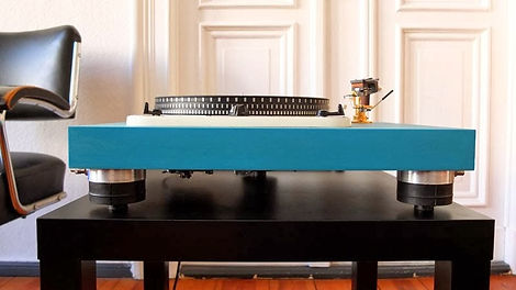 Schick Garrard 301 and 401 Turntable Reference Plinth - Gallery