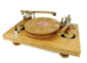 Tri Art Audio TA-2 Bamboo Turntable