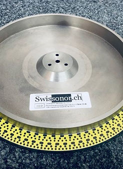 Swissonor TD124 non-magentic main platte