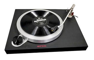 Schck Model 14 Idler Drive Turntable 2.j