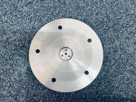 Swissonor TD124 non-magnetic main platte