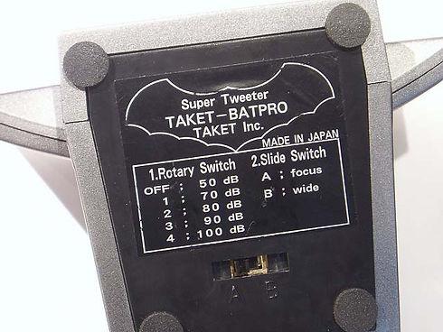 Taket BatPro 2 Settings