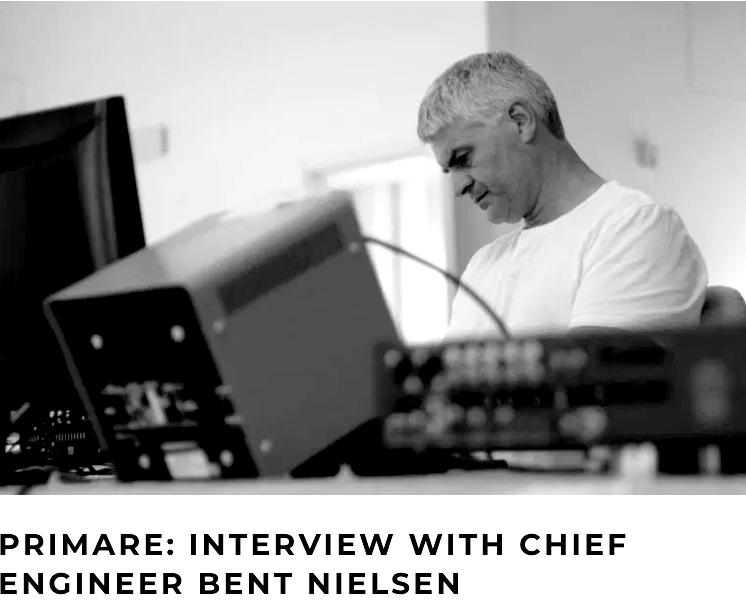 Priamare : Bent Nielsen Interview