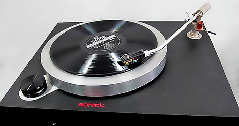 Schick Model 14 Idler Drive Turntable Gallery