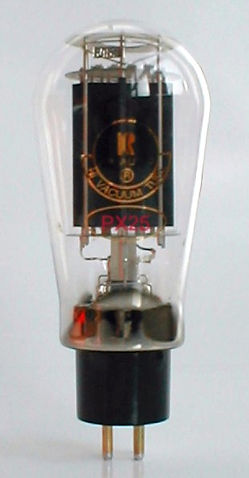 Audion PX25 Tube