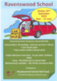 Ravenswood School car boot sale.PNG