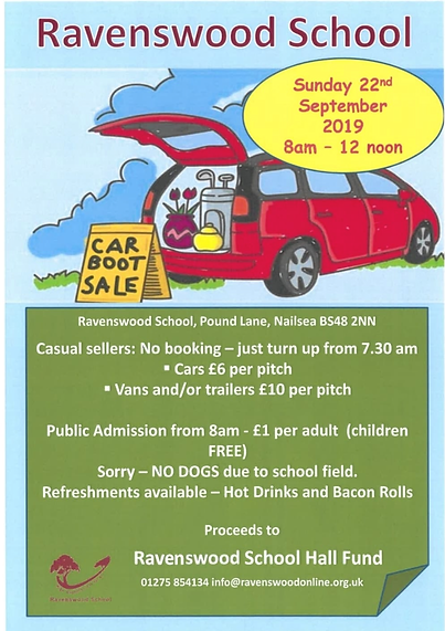 Ravenswood School car boot sale.PNG