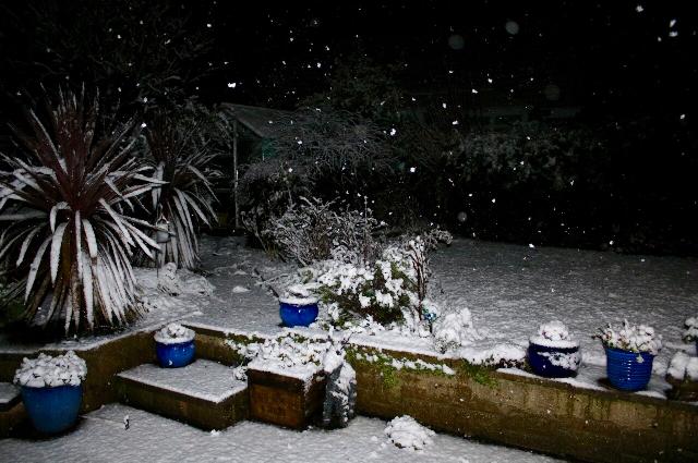 Nailsea in snow December 2017