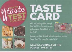 Posh Taste Test September 2017