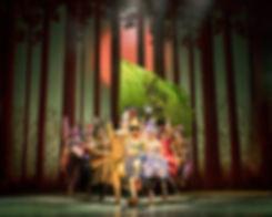 The Fairytale cast. Shrek the Musical UK