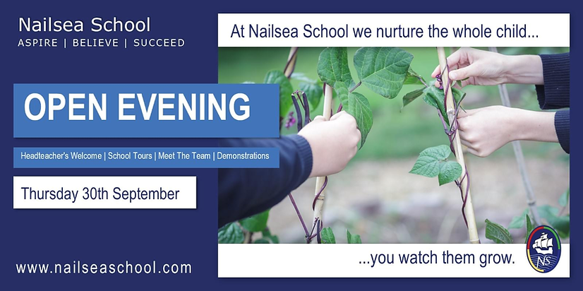 Nailsaea School open evening.PNG