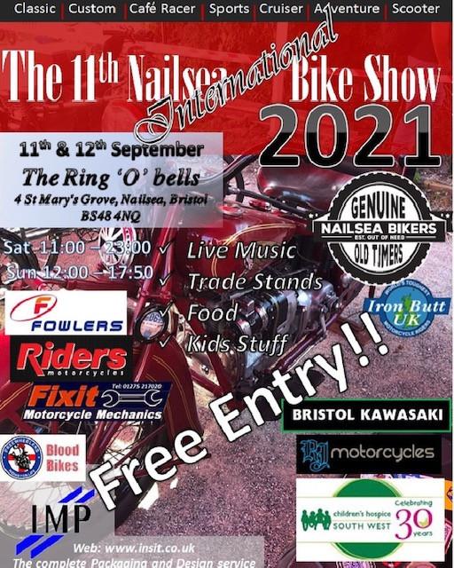 Nailsea International Bike Show 2021