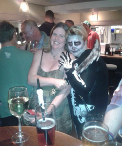 Nailsea people at Halloween 2015