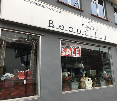 Beautiful closing down sale.JPG