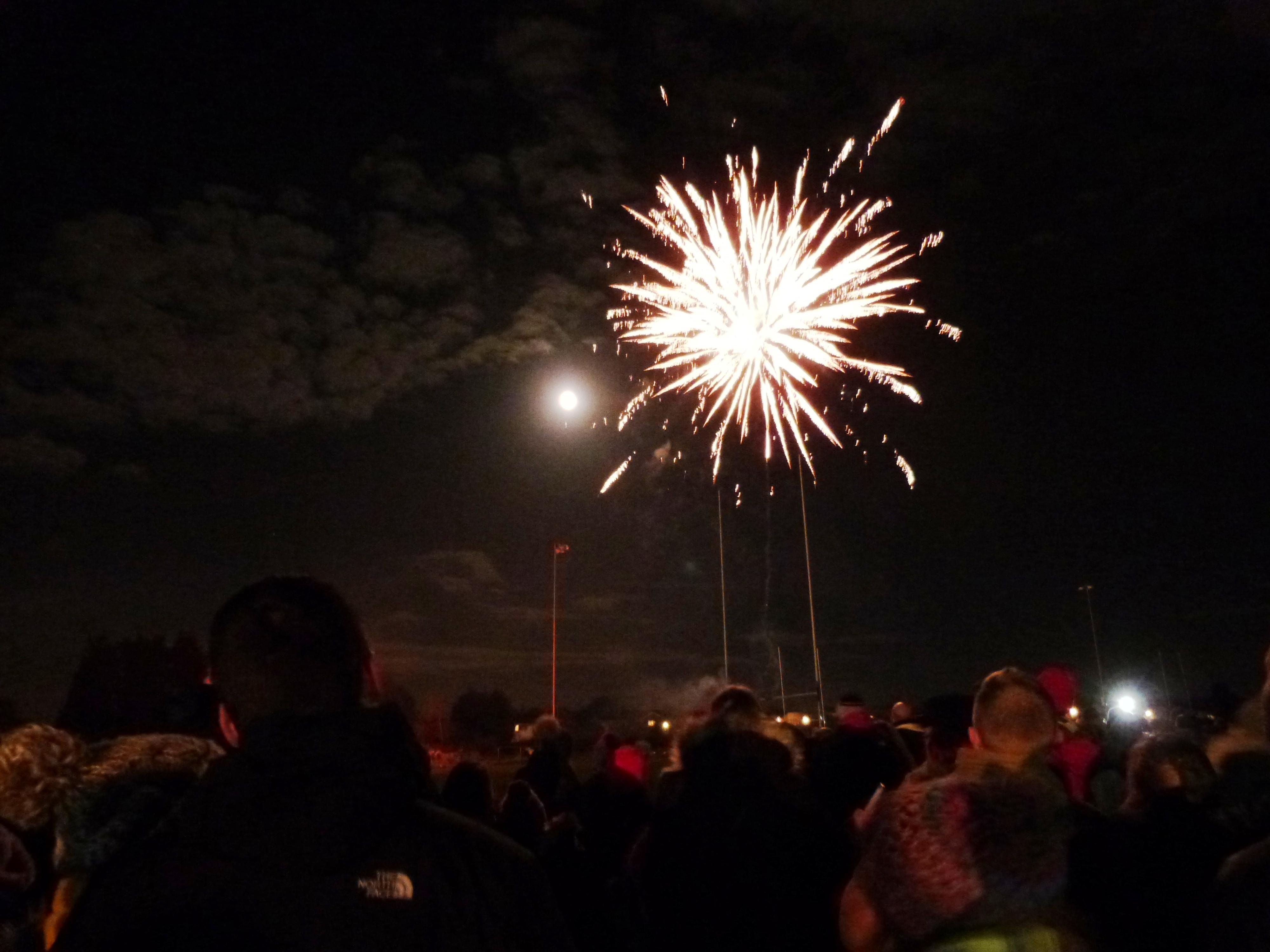 Bonfire night at Nailsea 2017