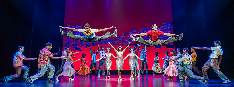 10. MOTOWN THE MUSICAL. The Company. Pho