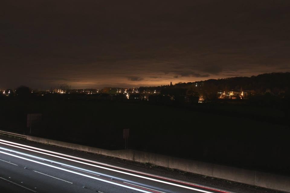 Nailsea at night 2016