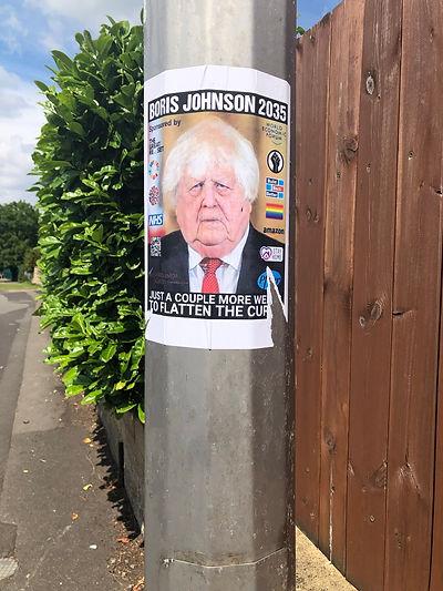 Boris on lamppost.JPEG