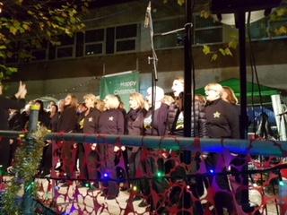 Rock choir Stephen Morten