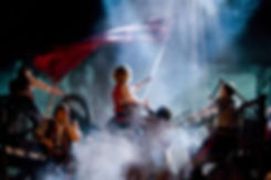 LES MISERABLES. Barricades 2 Photo by Mi
