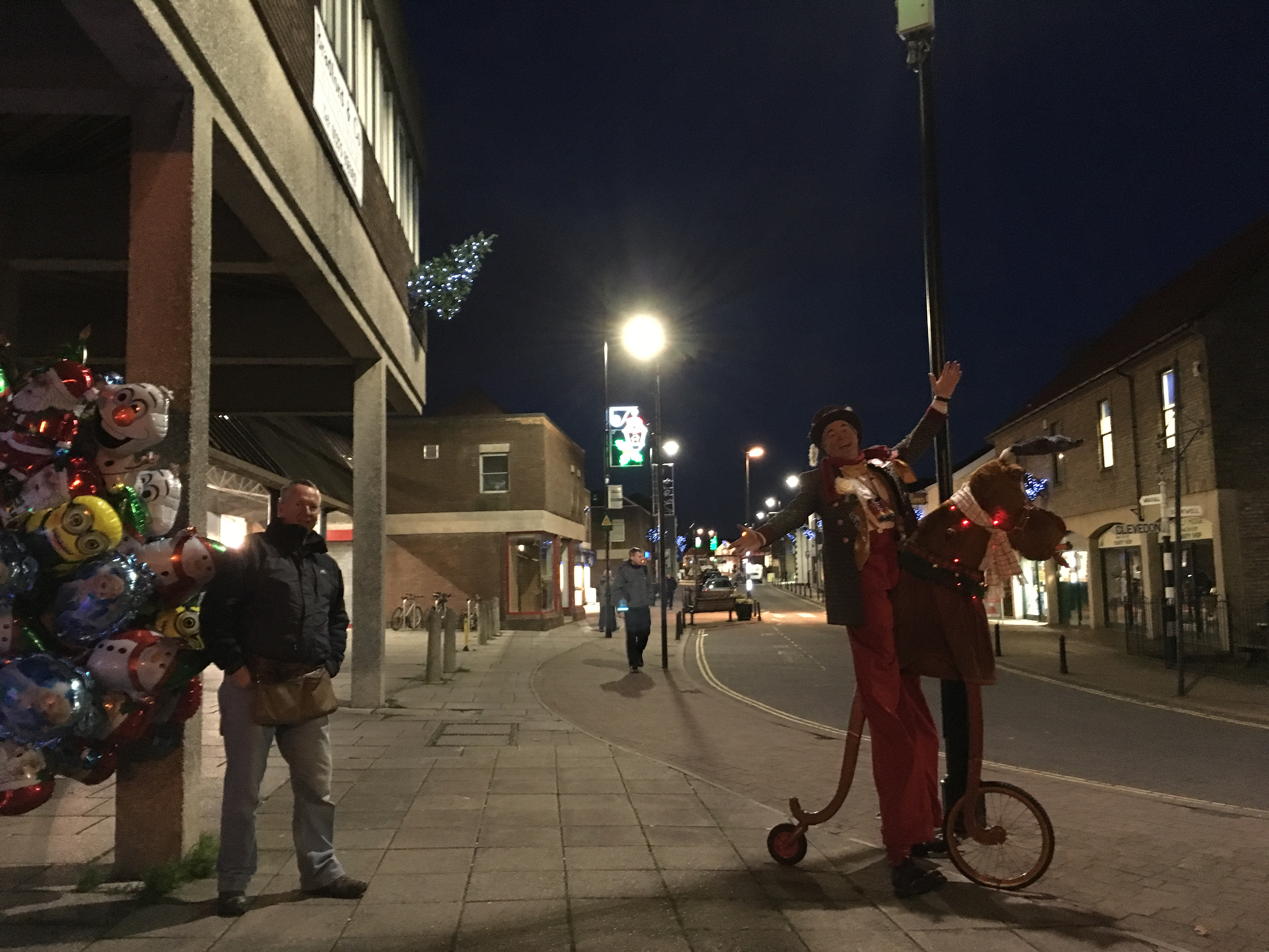Nailsea Christmas lights 2015