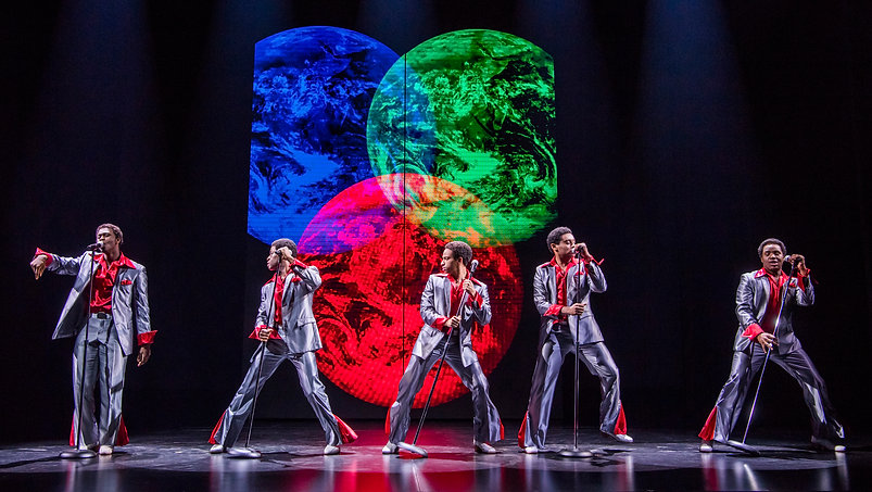 4. MOTOWN THE MUSICAL. The Temptations.