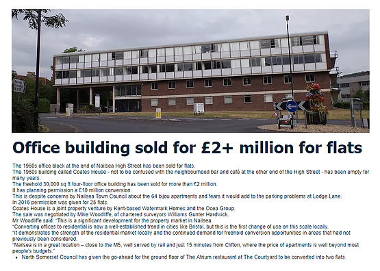 Coates House office block sold.png
