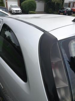 Car vandalised at Mizzymead Road