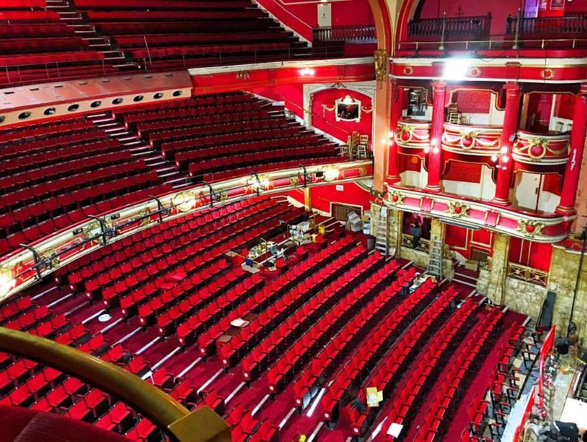 New seats at Bristol Hippodrome