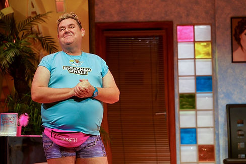 BENIDORM LIVE. Tony Maudsley 'Kenneth'.