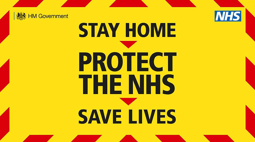 landscape stay home protect NHS save liv