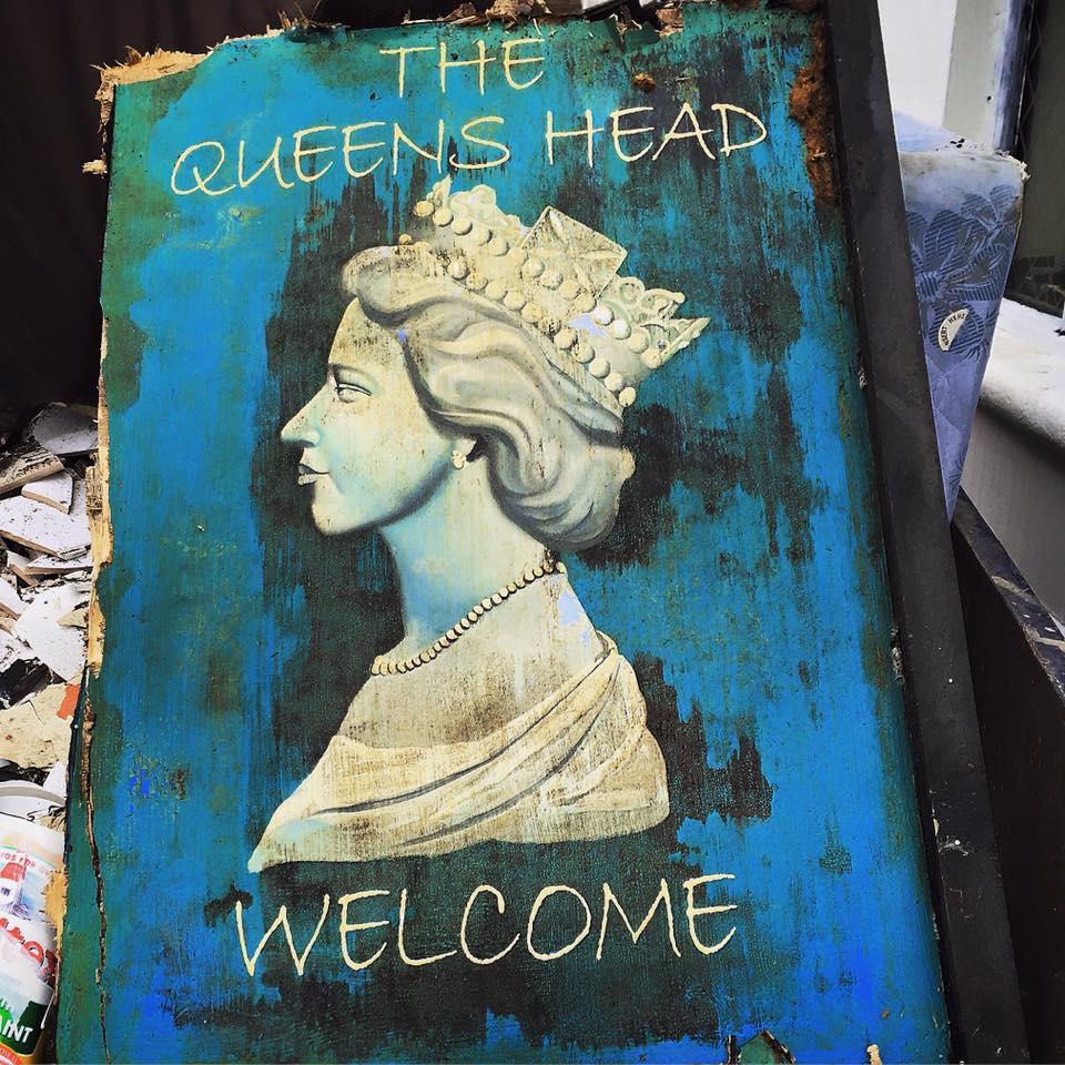 Queens Head no more