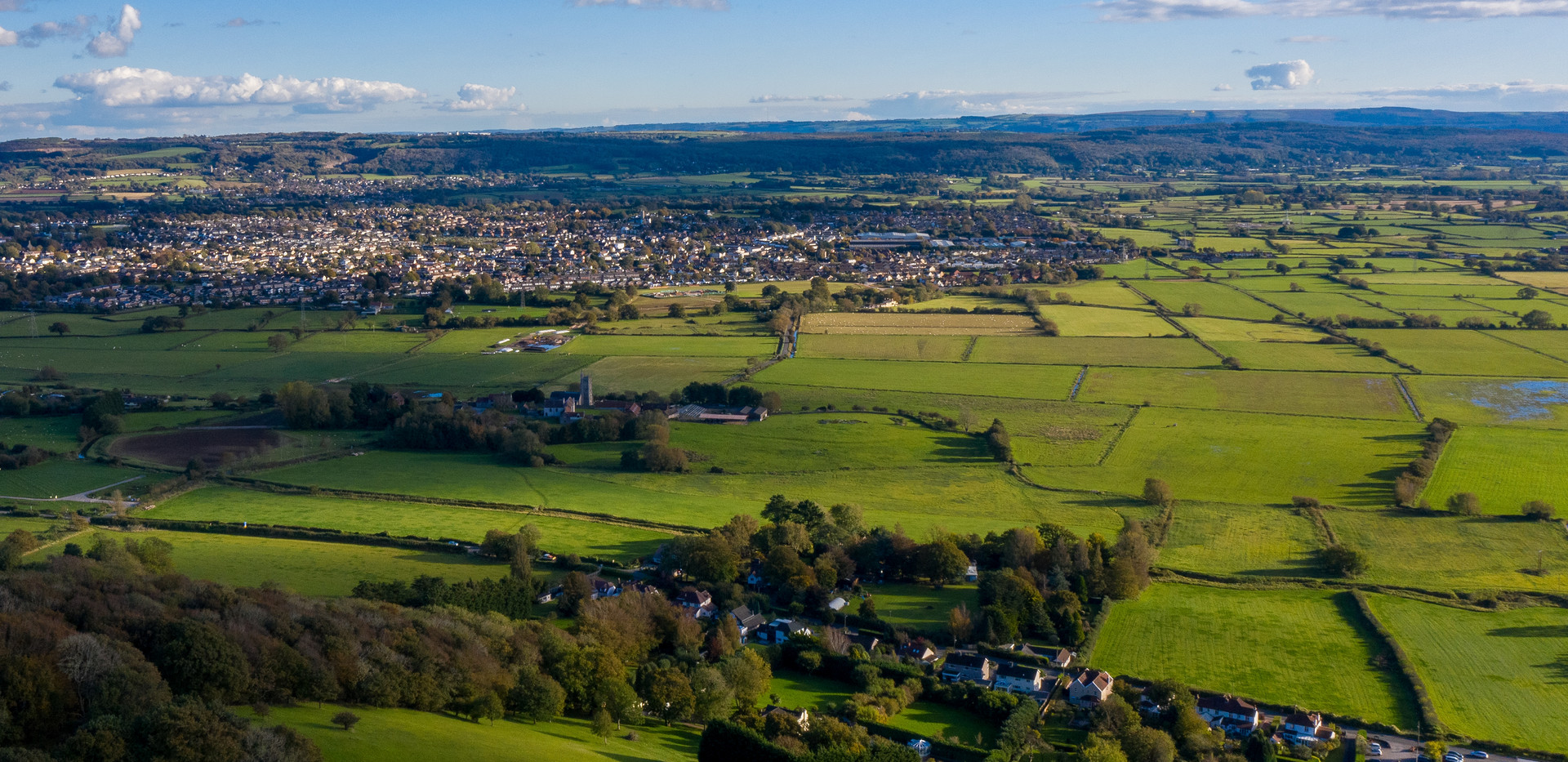 Nailsea from above 2021
