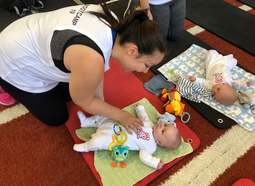 Mums and babies bootcamp