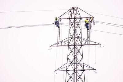 Balfour Beatty engineers high in the sky, Noah's Ark Zoo Farm - Doug Evens.jpg