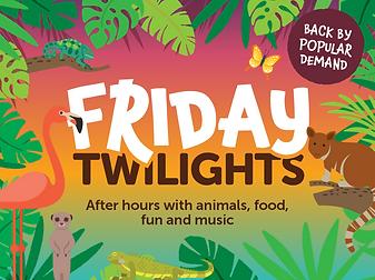Friday Twilights at Bristol Zoo, 5, 19,