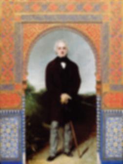 Tyntesfield Alhambra with William Gibbs