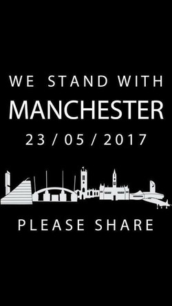 Nailsea School support Manchester
