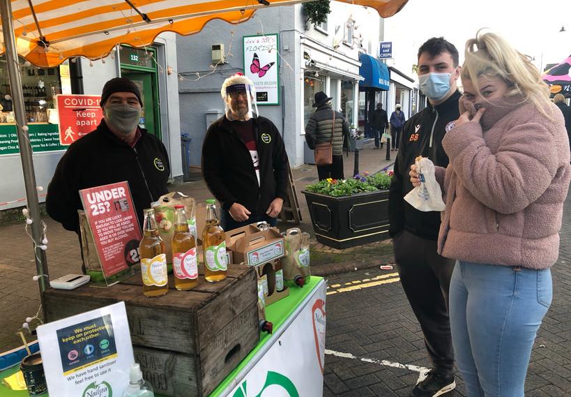 Nailsea farmers' market