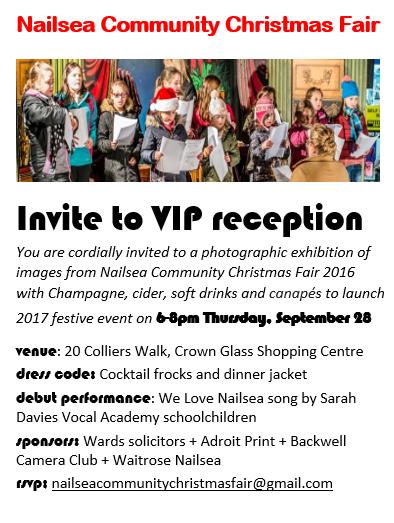 NCCF VIP launch invite