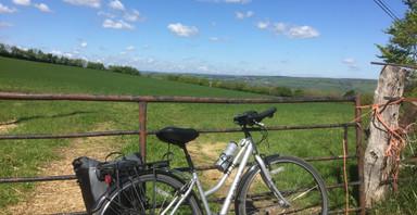 Sue's bike ride