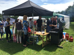 Burgers and baps stall