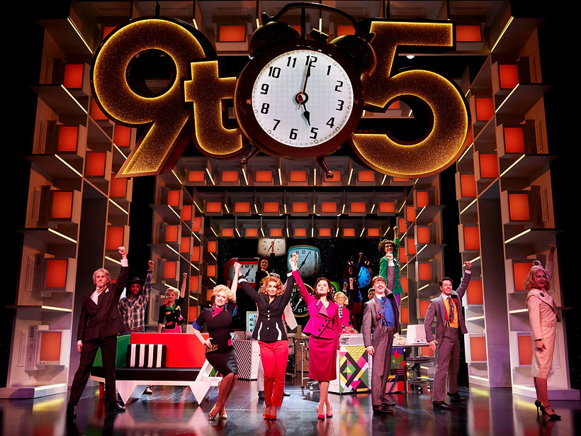 5. 9 TO 5 THE MUSICAL. Louise Redknapp '