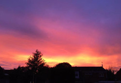 Nailsea August sunsets