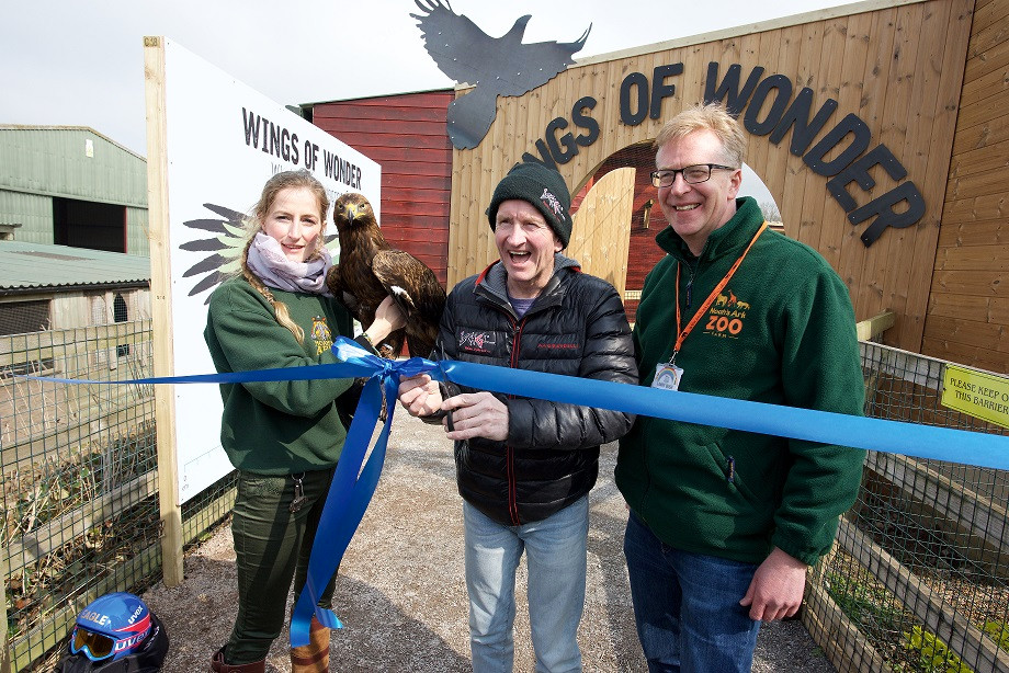 Eddie the Eagle at Noah's Ark
