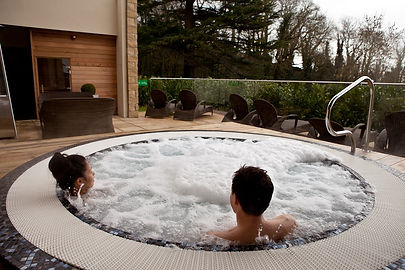 Outdoor hot tub at the spa.jpg