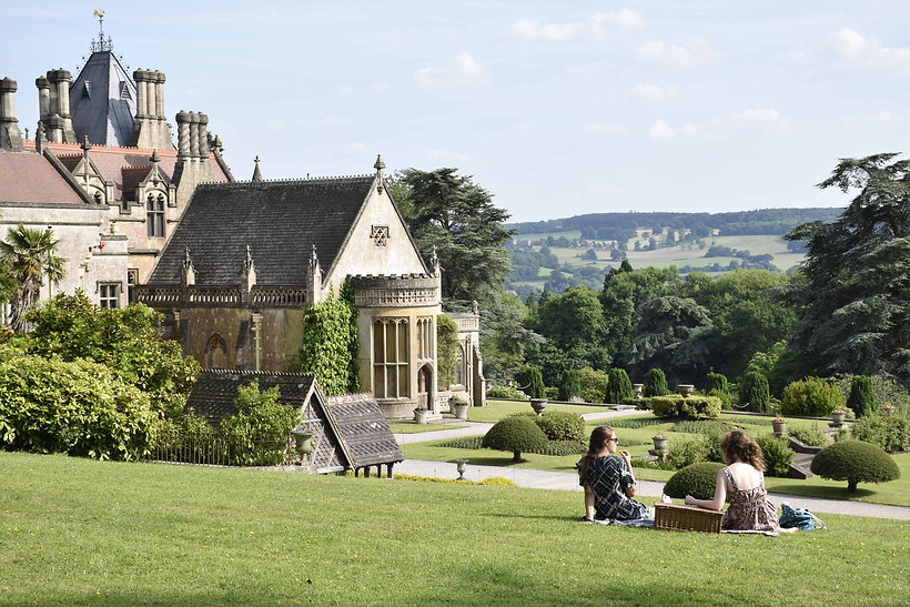 Picnicking at Tyntesfield this summer (c